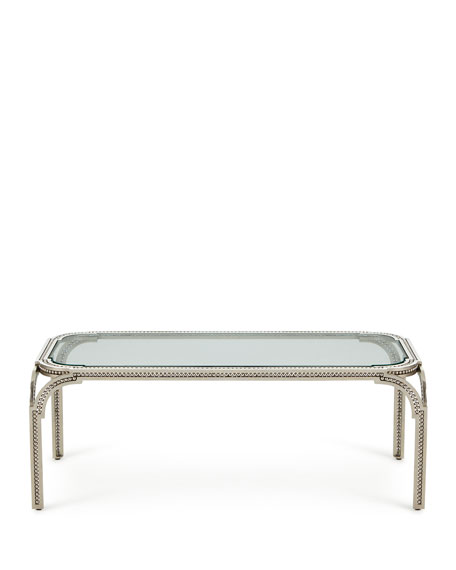 Garnet Forged-Pearl Coffee Table