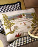 Image 1 of 3: MacKenzie-Childs Farm Pillow
