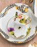 Ribbon Thistle & Bee Dinner Plate