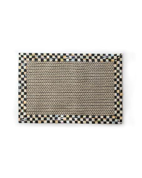 MacKenzie-Childs Braided Wool/Sisal Rug, 2' x 3'