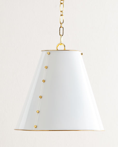 Tapered Metal Pendant Light