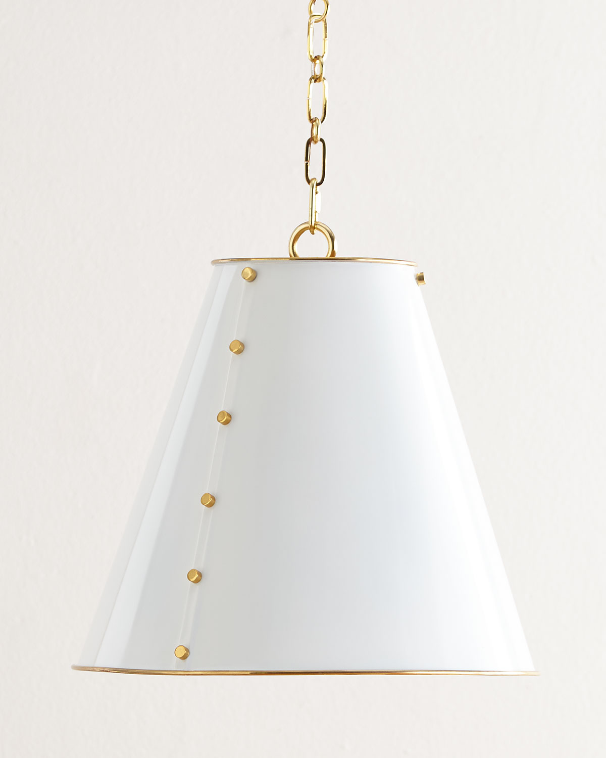 Neiman Marcus Lighting Intended Tapered Metal Pendant Light Neiman Marcus