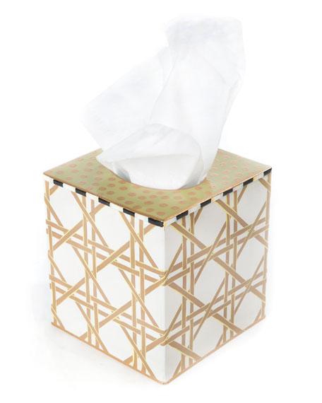 Lattice Tissue Box Cover