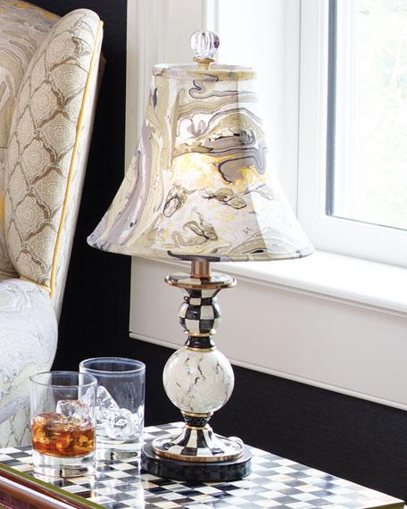 MacKenzie-Childs Courtly Palazzo Candlestick Lamp