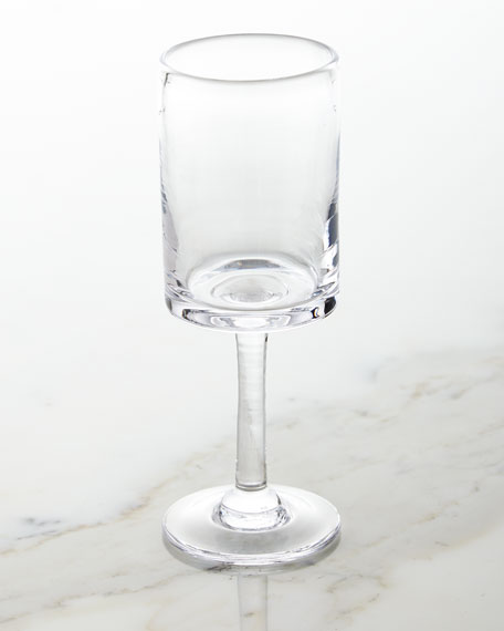 Simon Pearce Ascutney White Wine Glass