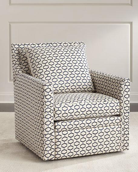 Charmant Kadi Swivel Recliner Chair