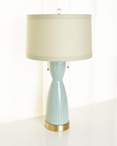 Corset Ceramic Table Lamp