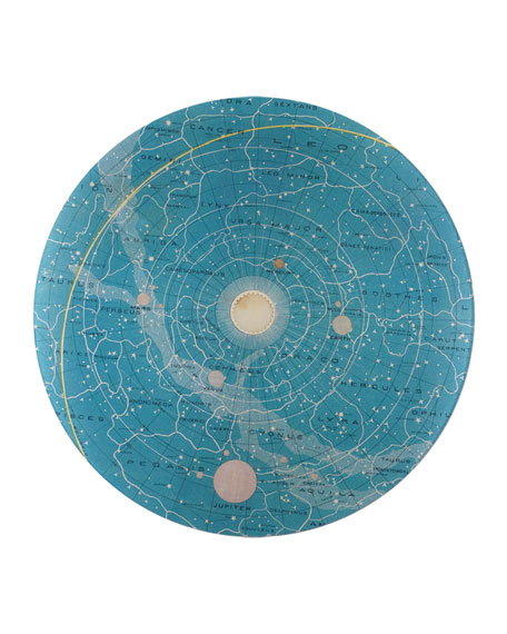 Constellations Round Platter