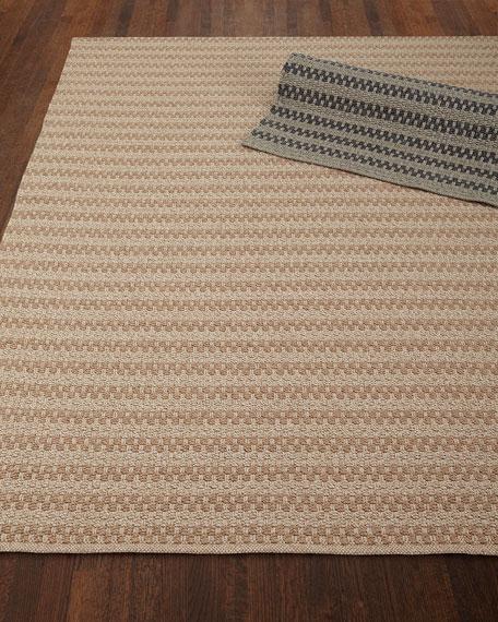 """Deja Mirage Tweed Indoor/Outdoor Rug, 7' x 9'6"""""""