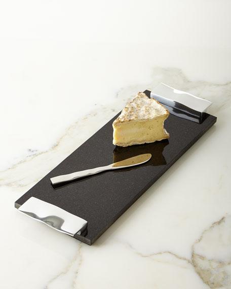Michael Aram Ripple Effect Cheese Board & Knife