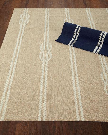 """Knot & Rope Indoor/Outdoor Rug, 7'6"""" x 9'6"""""""