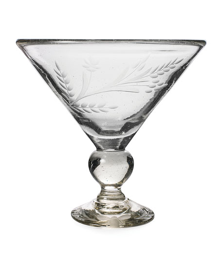 Jan Barboglio Wee-Bee Magnum Martini Glass, Clear