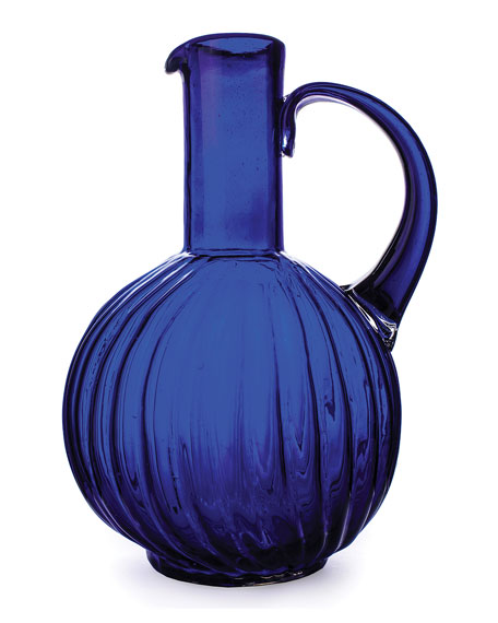Jan Barboglio Jarron San Juana Blue Pitcher