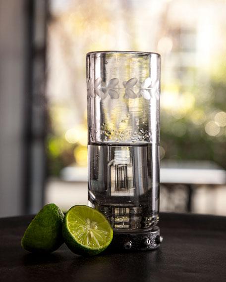 Clear Triple Shot Glass