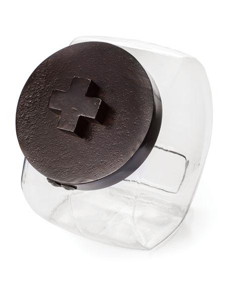 Jan Barboglio Cross Cookie Jar