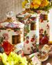 MacKenzie-Childs Small Flower Market Canister