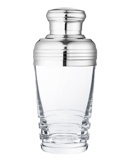 Saint Louis Crystal Oxymore Cocktail Shaker, Clear