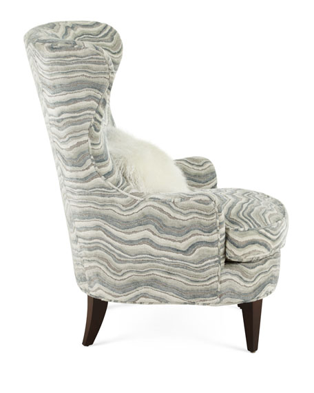 Begonia Wing Chair