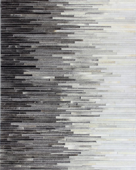 Ezra Hairhide Rug, 8' x 10'