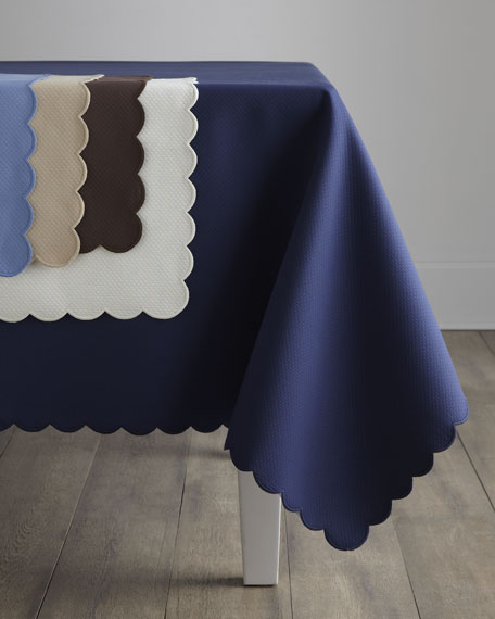 "Savannah Tablecloth, 120"" Round"
