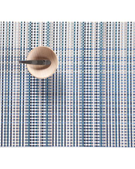 Blue Grid Placemat