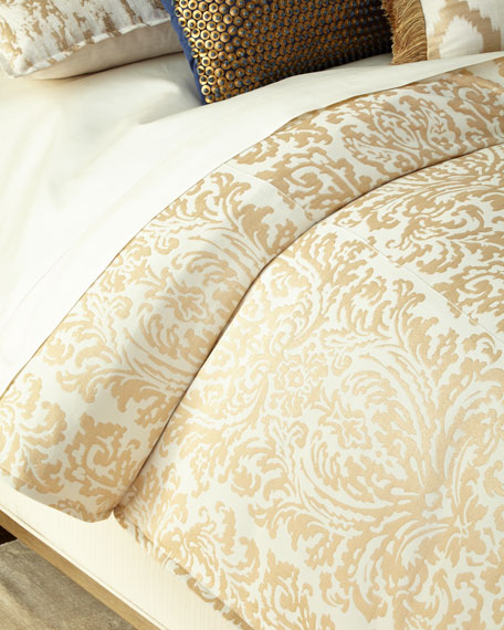 Isabella Collection by Kathy Fielder Queen Maya Duvet Cover
