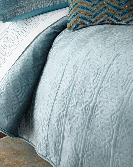 Divine Designs Spa Queen Quilt Set