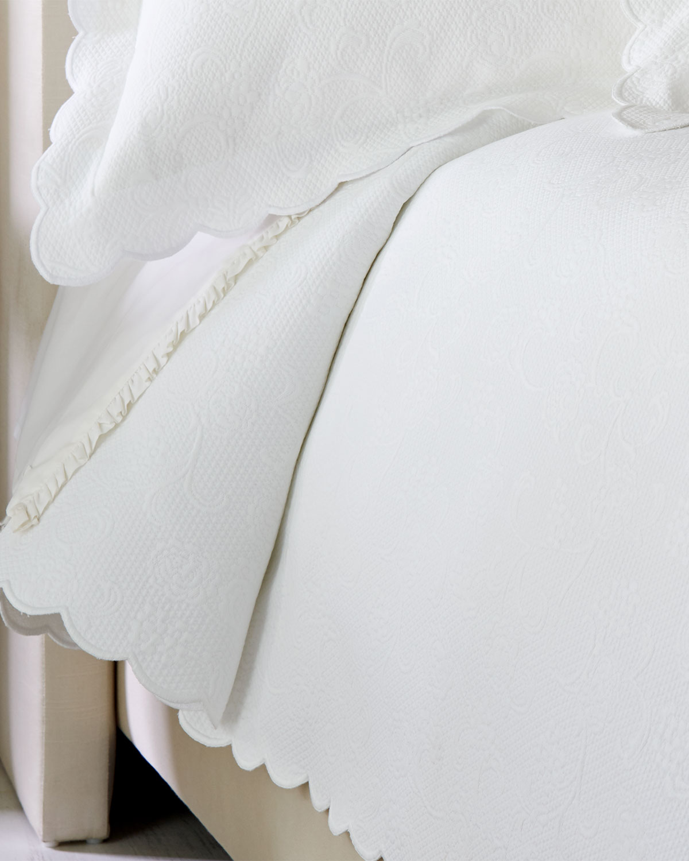 Sferra Floral Matelasse Bedding & Matching Items