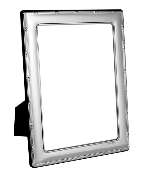 """Carrs Of Sheffield Reed & Ribbon Picture Frame, 4"""" x 6"""""""