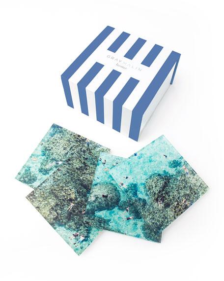 Reef Coasters, Set of 4