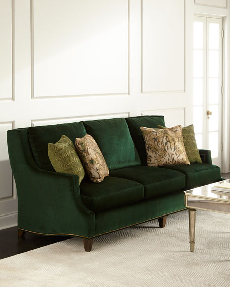 Massoud Marlena Emerald Sofa