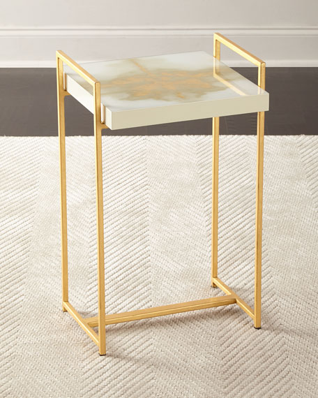 Aurora Ink Blot Side Table