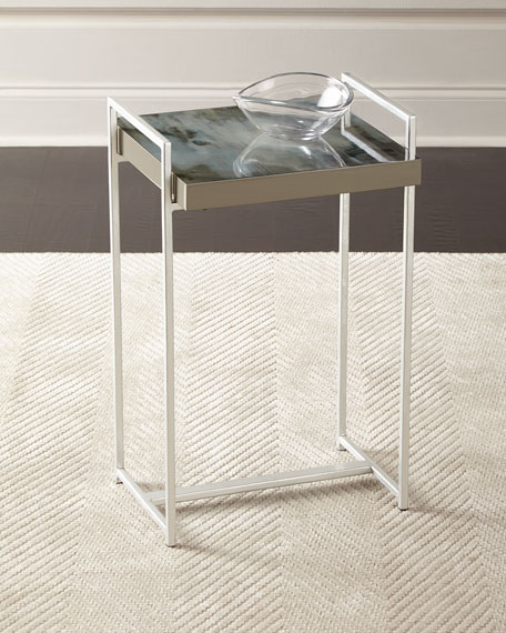 Celestina Watercolor Side Table