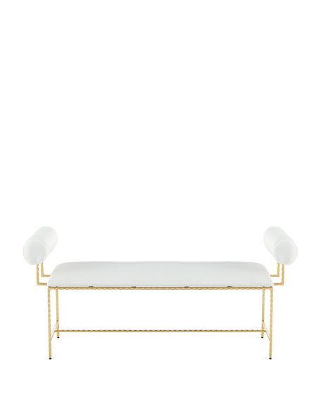 Delane Bolster-Arm Bench