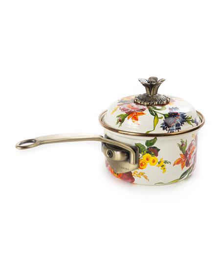 MacKenzie-Childs Flower Market 1-Quart Saucepan