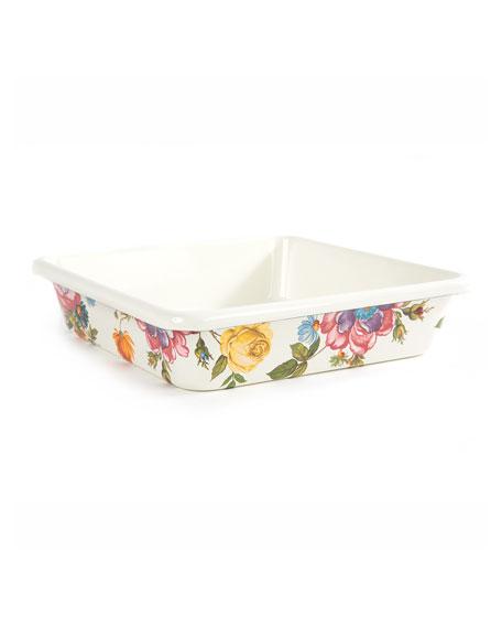 """Flower Market Baking Pan, 8"""" Square"""