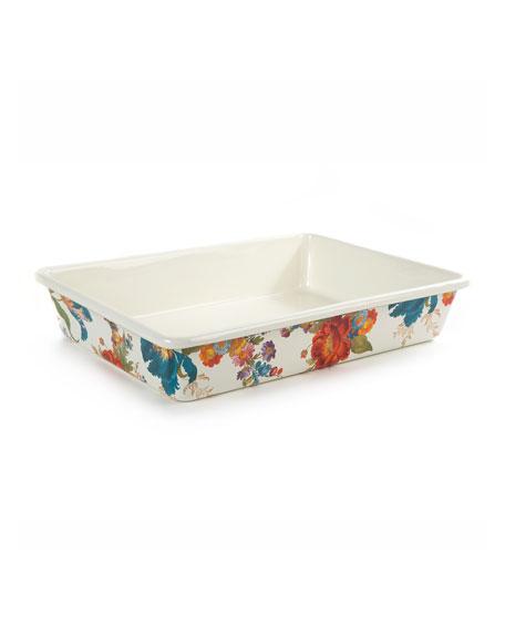 Flower Market Baking Pan, Rectangular