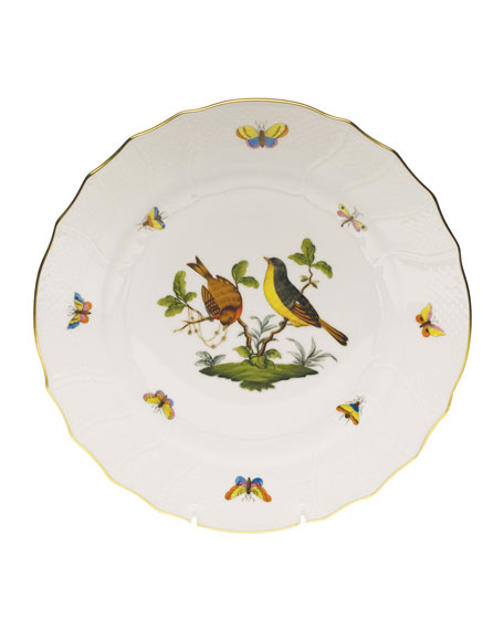 Herend Rothschild Bird Dinner Plate #7