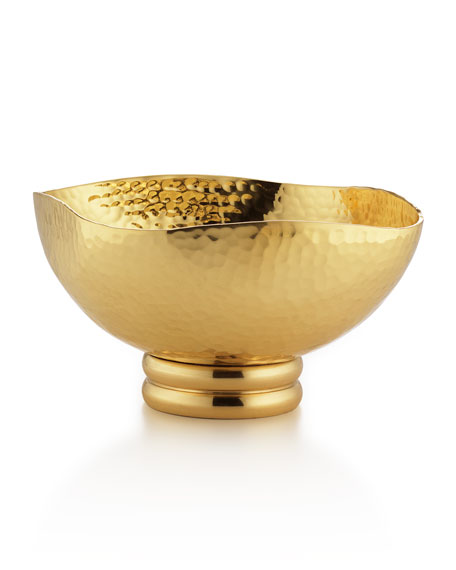 El Dorado Brass Square Bowl