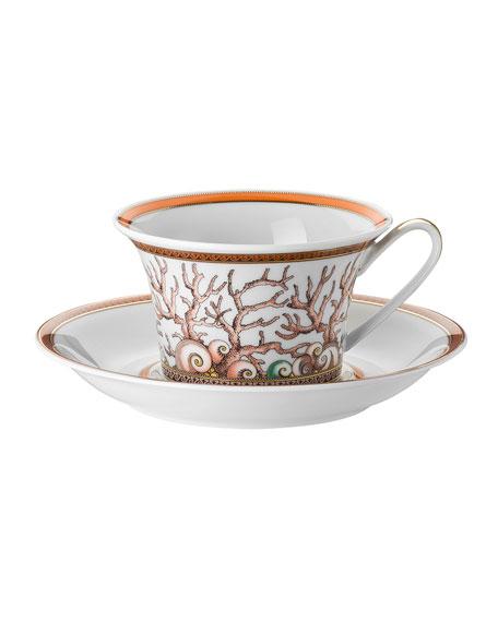 Versace Etoiles de la Mer Cup and Saucer