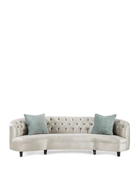 Mansfield Monroe Tufted Sofa