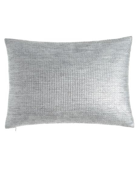 """Metallic Mohair-Blend Pillow, 16"""" x 24"""""""