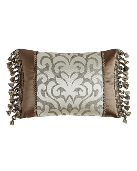 "Sterling Damask-Center Pillow, 14"" x 20"""