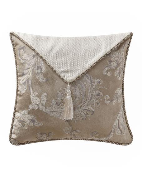 """Waterford Chantelle Envelope Pillow, 18""""Sq."""