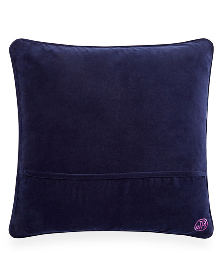 Lavender Worth Avenue Bargello Pillow