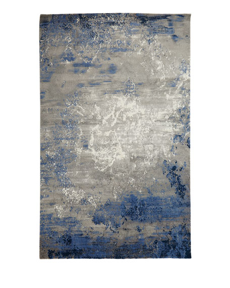 "Foggy Night Rug, 5'6"" x 8'"