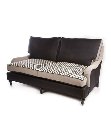 MacKenzie-Childs Underpinnings Studio Loveseat