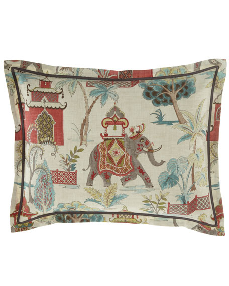 Jane Wilner Designs Bally King Sham