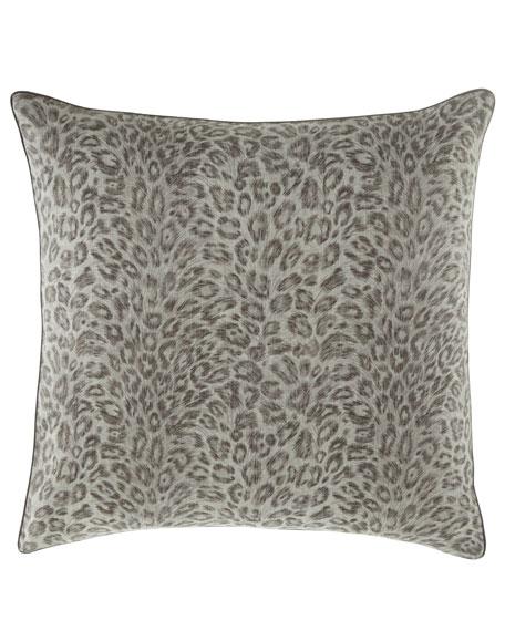 Bally Leopard-Print European Sham