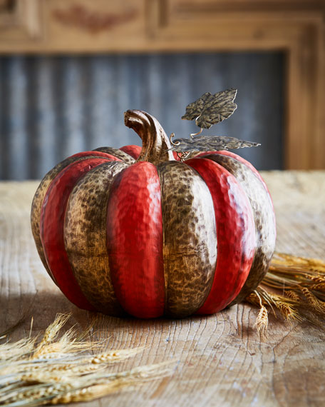 MacKenzie-Childs Persimmon Pumpkin